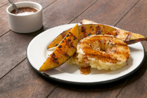 Grilled Pineapple and Sweet Potato