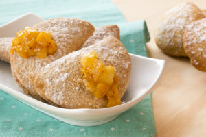 Pineapple, Mango and Apple Turnovers