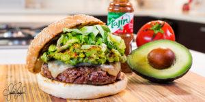 Tajín Guacamole Burger
