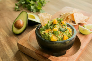 Guacamole with Mango